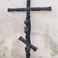 Кованый крест №7