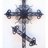 Кованый крест №14