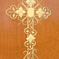 Кованый крест №15