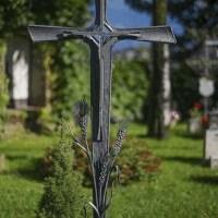 Кованый крест №19