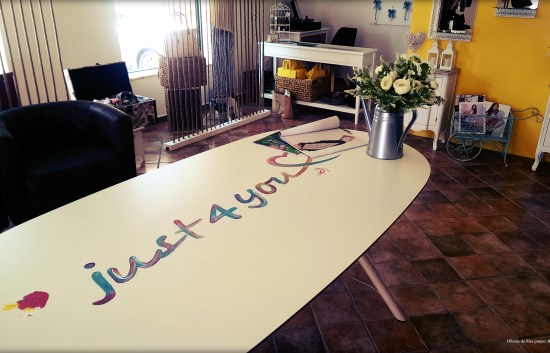 Just 4 You Store - Hand painted table