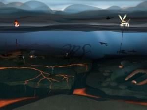 Ocean 3D Scenario