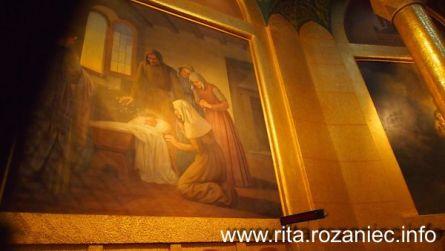 Obrazy z życia św. Rity