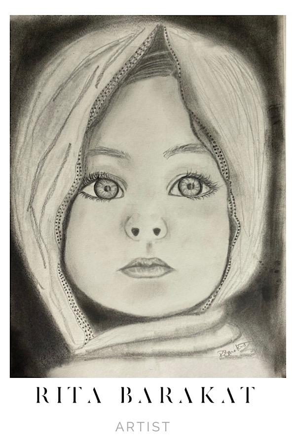 baby face Sketch Practice by Rita Barakat
