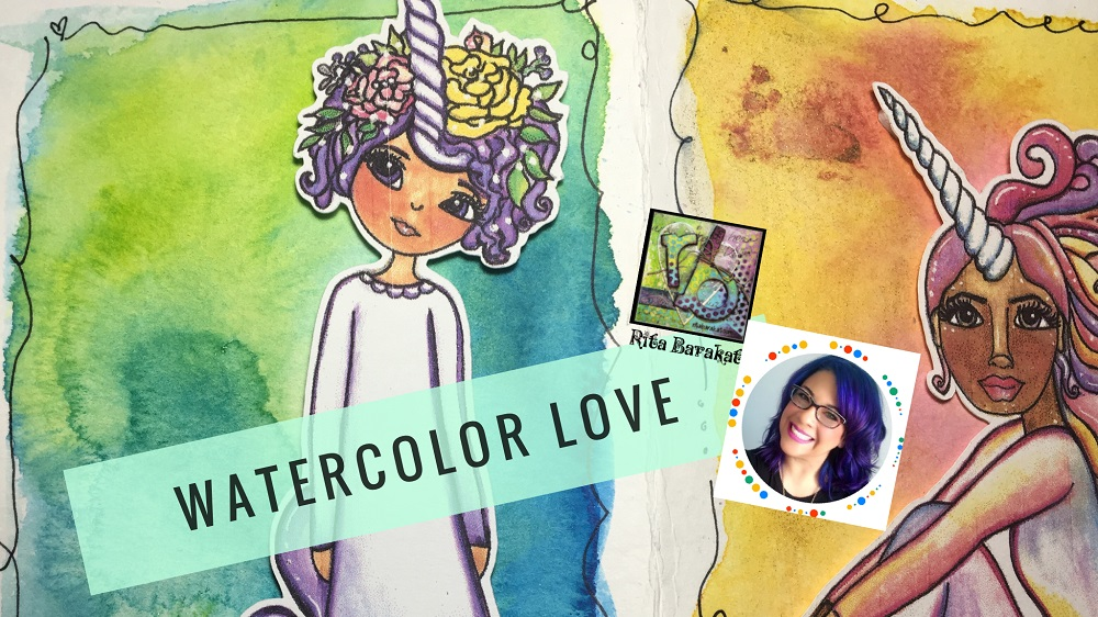 Watercolor video and giveaway going on now!