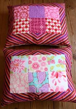 almofada market rosa