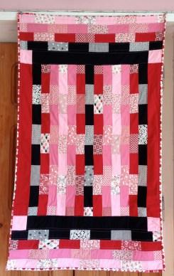 red brick quilt