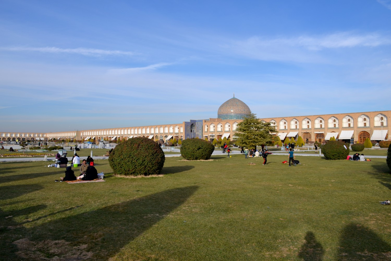 isfahan cosa vedere