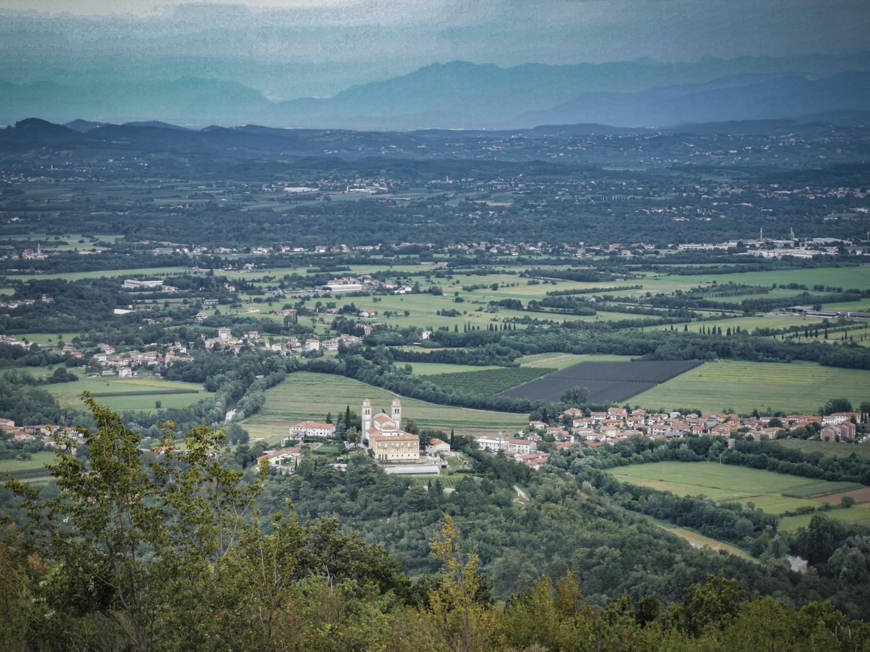 Panorama sul Carso da Cerje