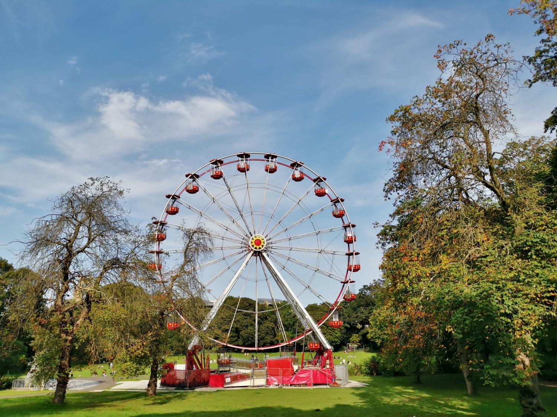 La ruota panoramica dei Botanic Gardens