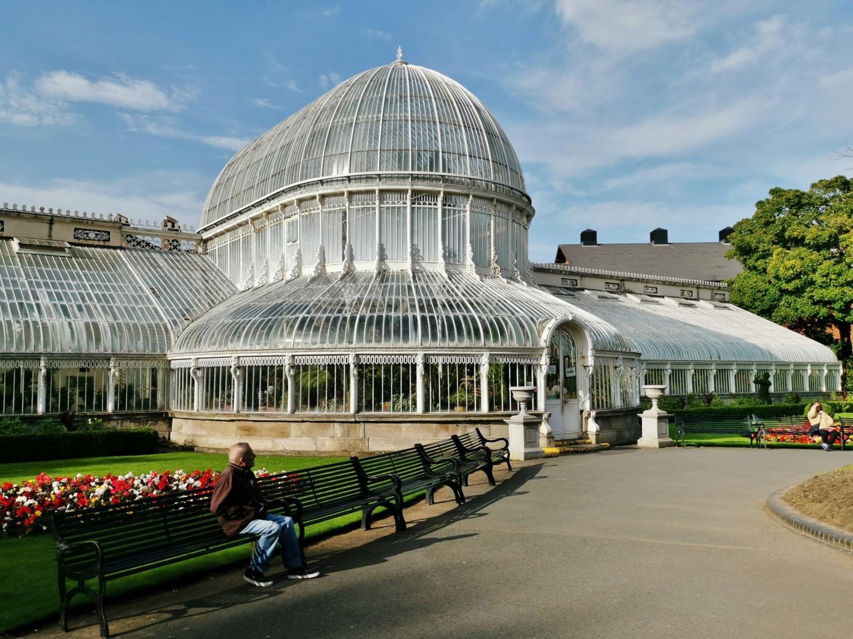 La grande serra dei Botanic Gardens