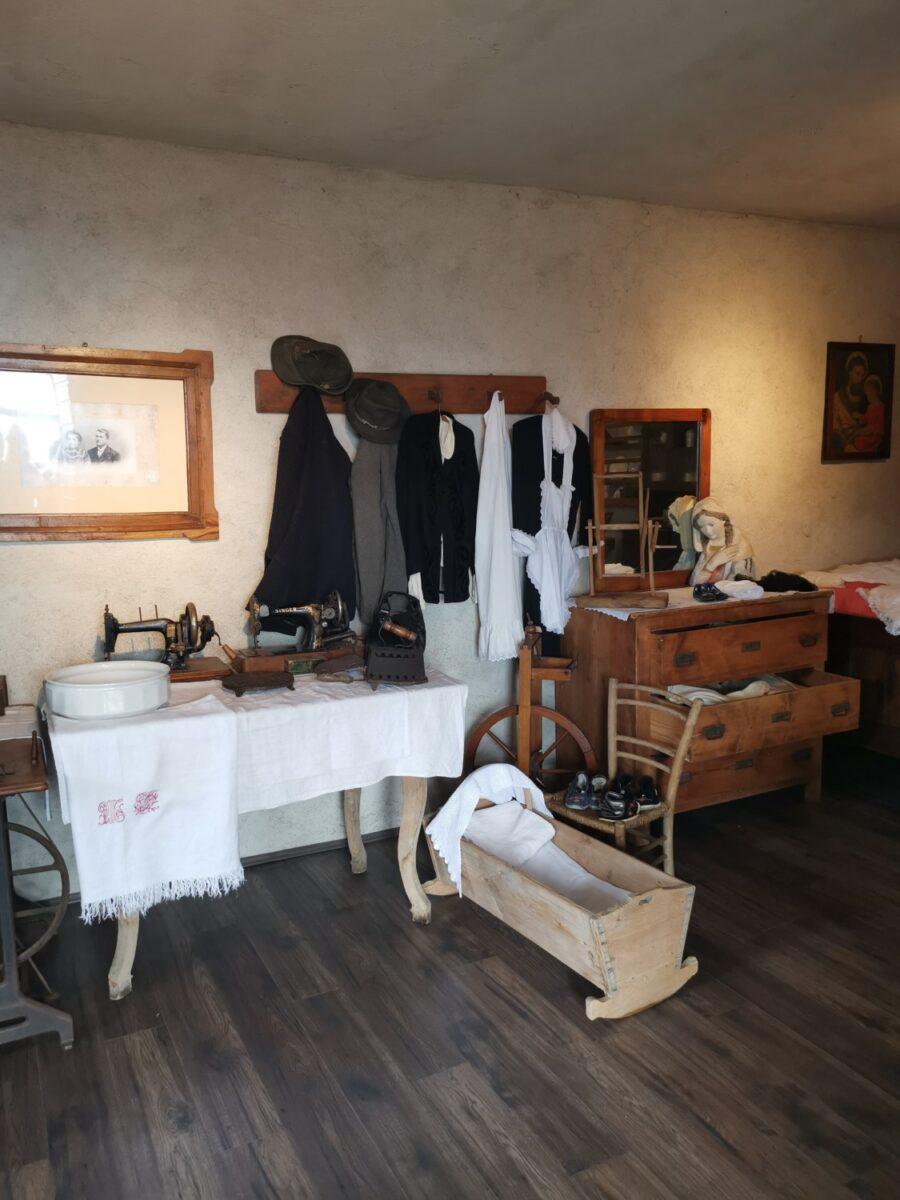 Una stanza del Museo del Matajur