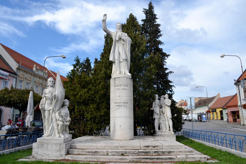 Il monumento a Ľudovit Štúr