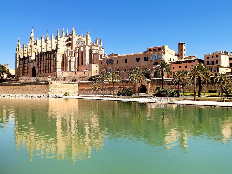 La cattedrale di Palma de Maiorca