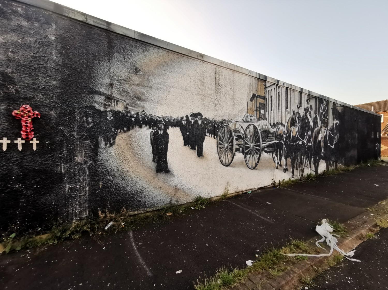 Memoriale in Shankill Road