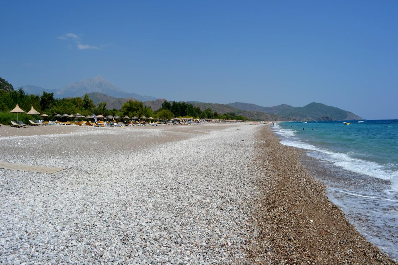 La spiaggia di Cirali