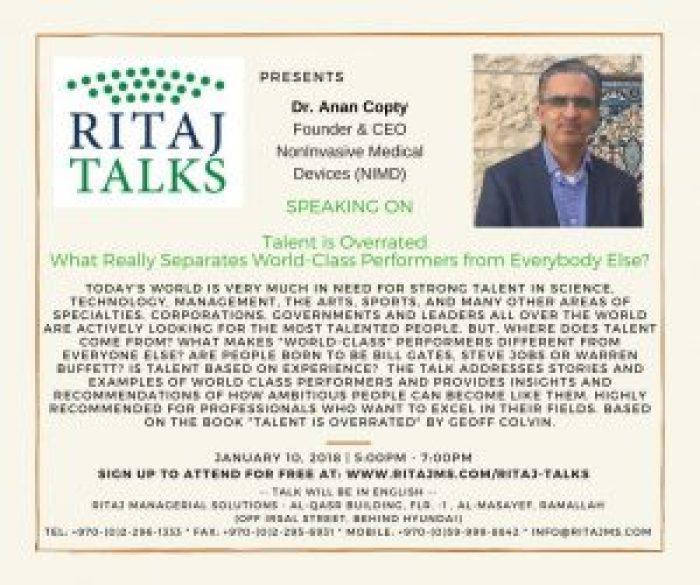 RITAJ Talks 7