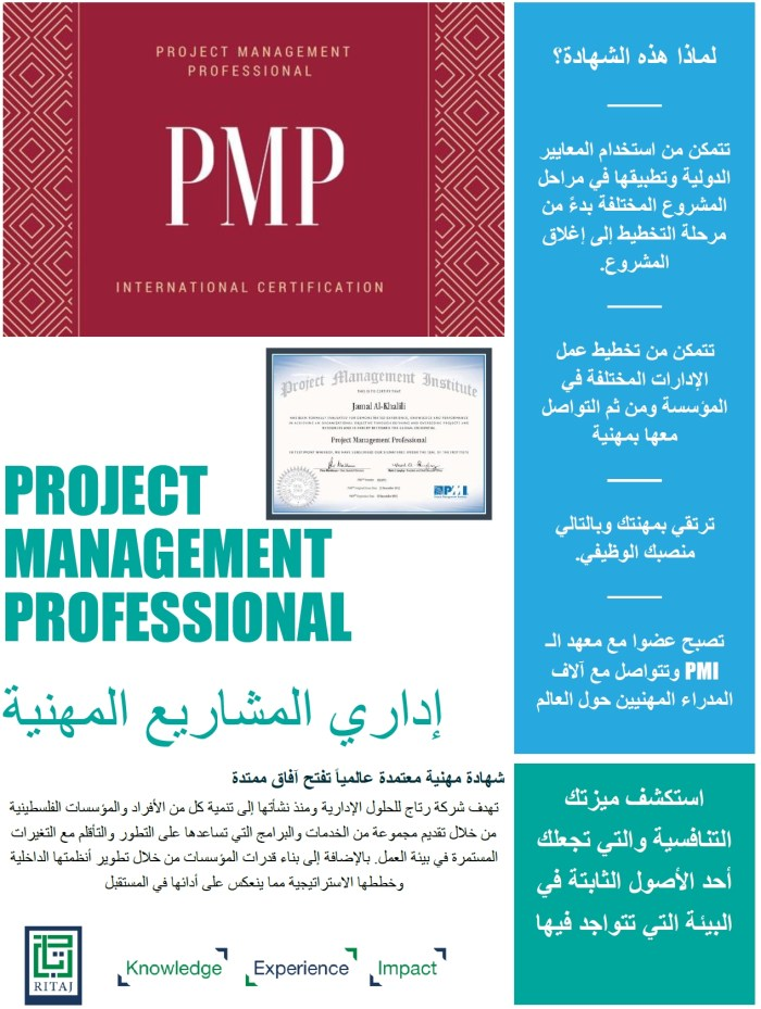 Project Management Professional - PMP 1