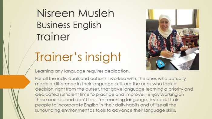 Business English for Professionals - ELP-BE 2