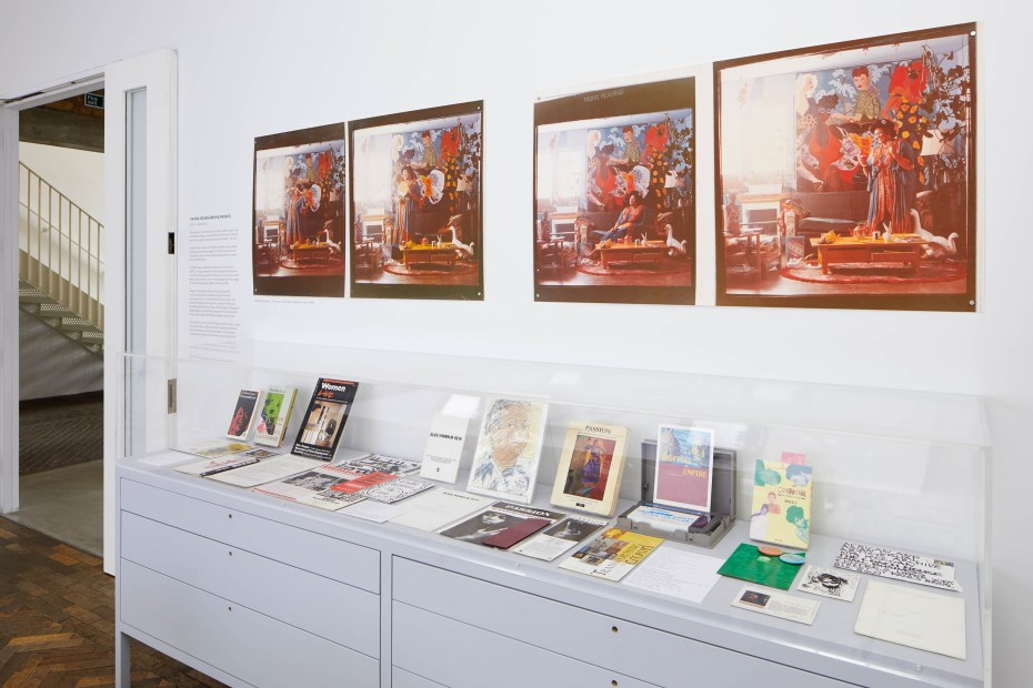 Rita Keegan Archive (Project): Archival Display at SLG, Fire Station, FREE display. Image credit: South London Gallery.