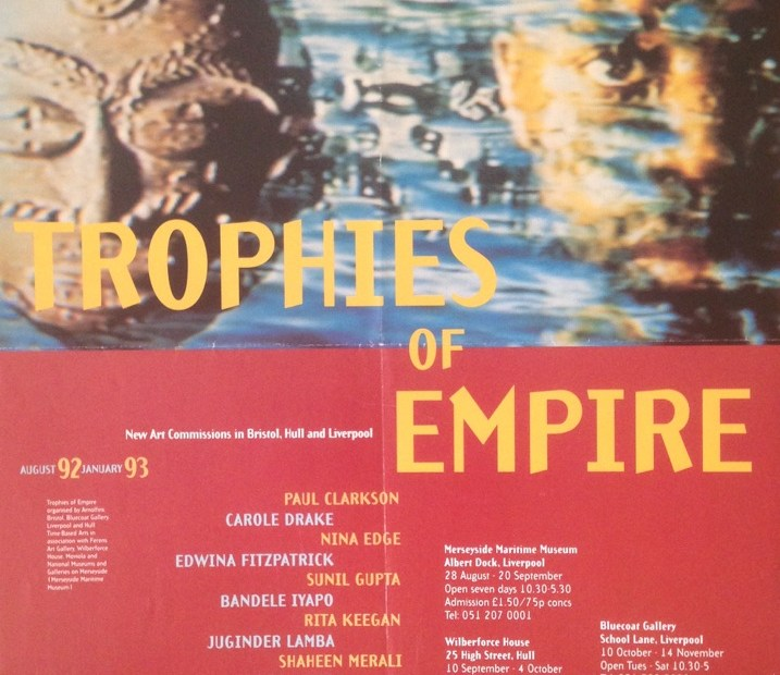 Trophies of Empire poster.