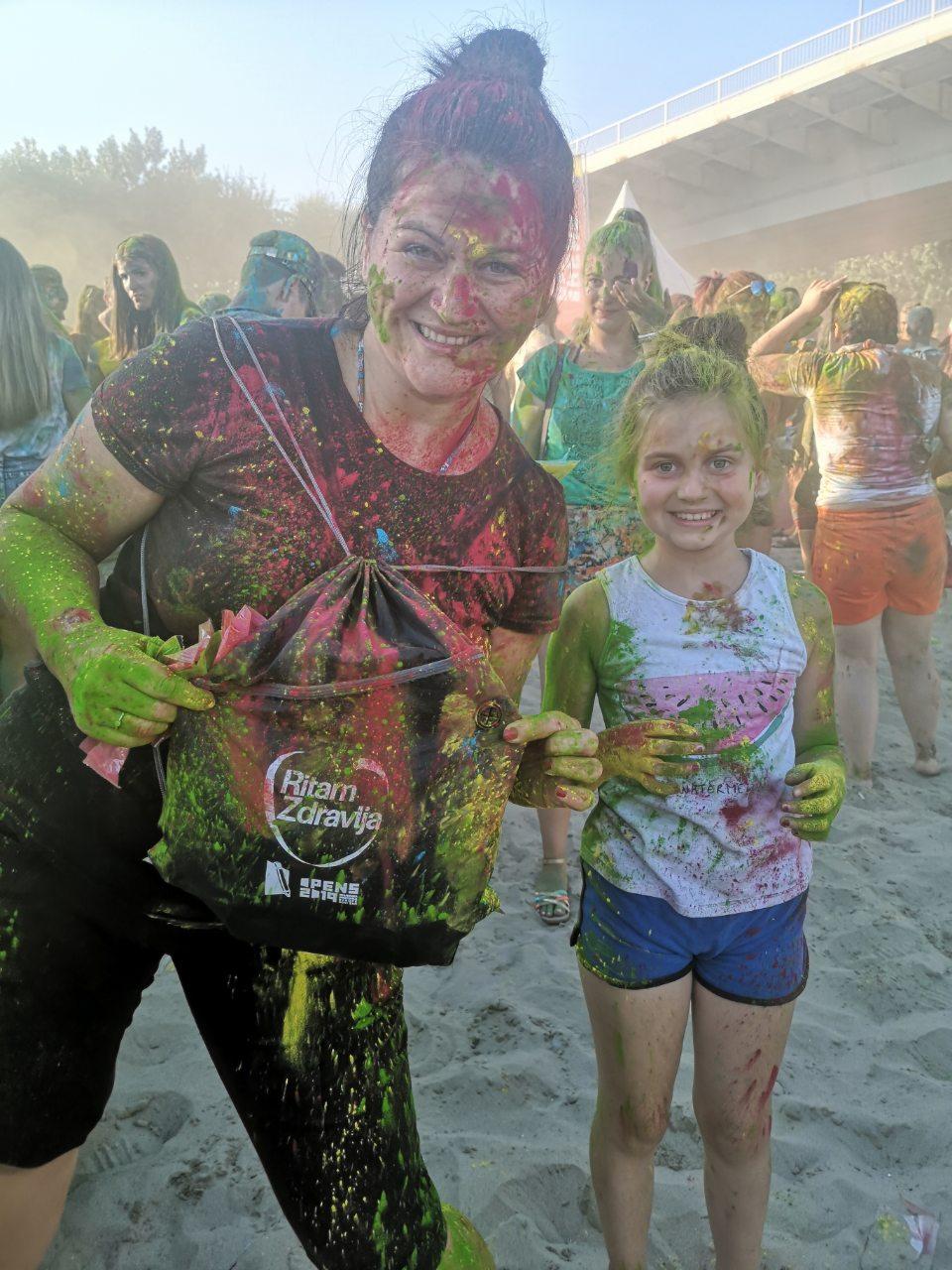 Ritam zdravlja na Festivalu boja