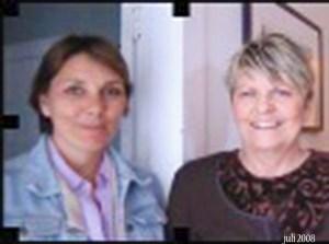 Norma Hotaling og meg juli 2008