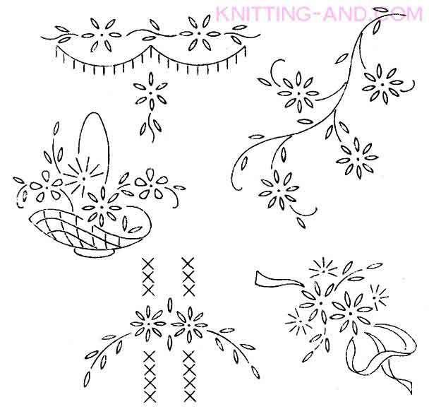vintage embroidery designs