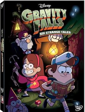 Disney's Gravity Falls: Six Strange Tales DVD Review