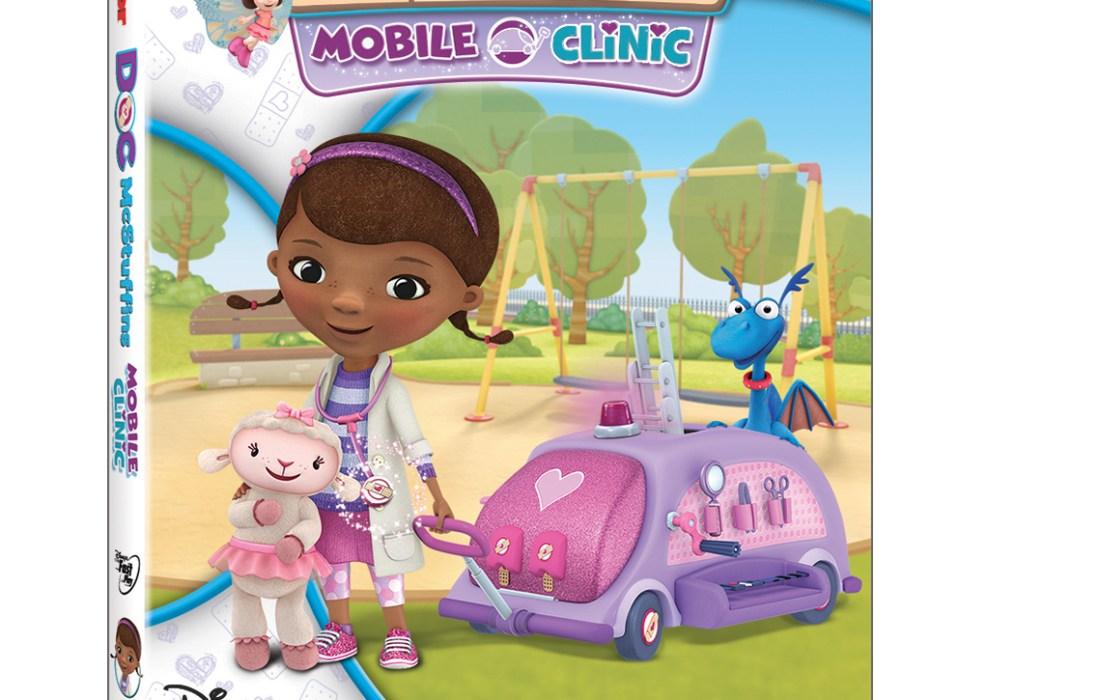 Doc McStuffins: Mobile Clinic #Giveaway