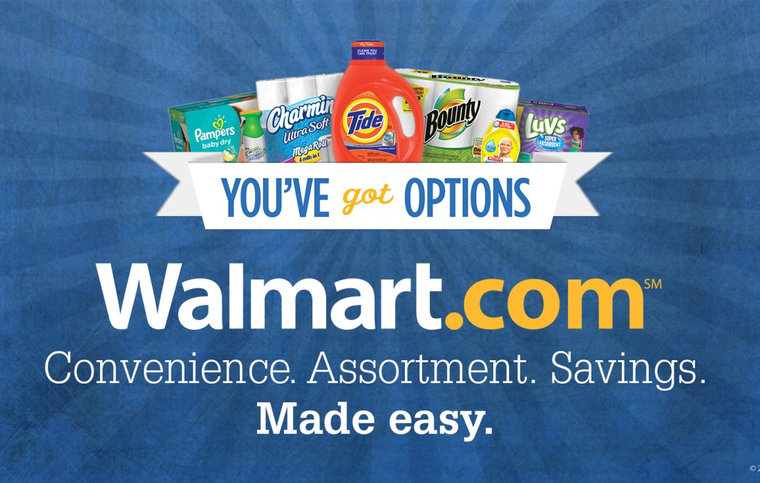 Shop P&G Products with the Walmart Mobile App