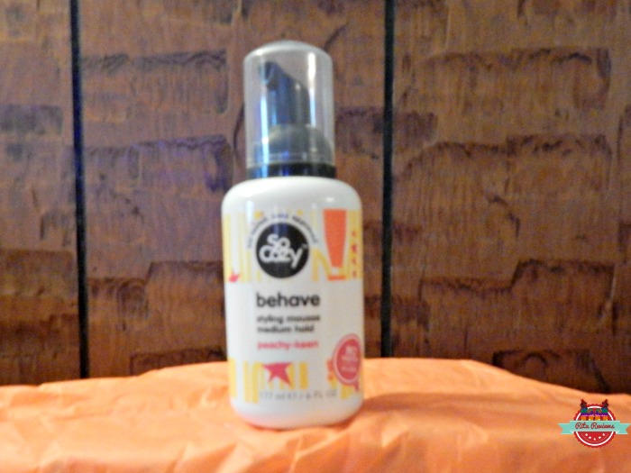 behave styling mousse