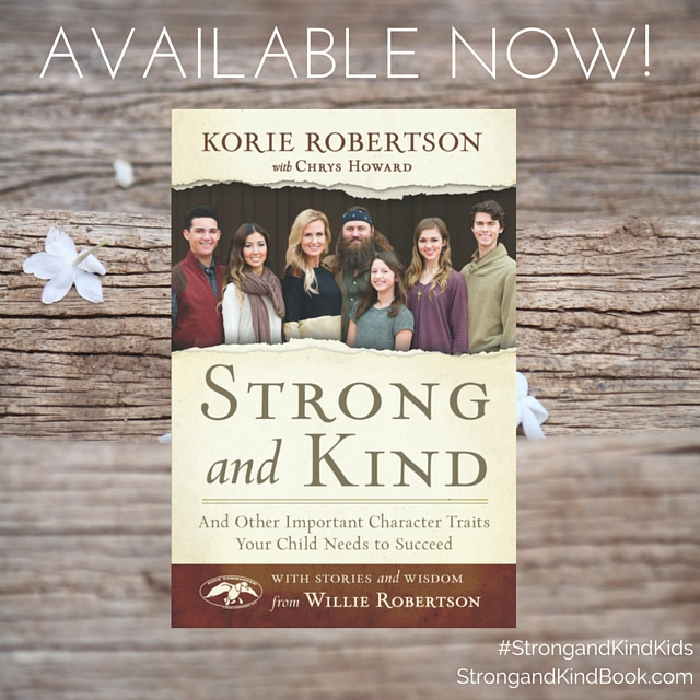 STRONG and KIND by Korie Robertson Review & Giveaway