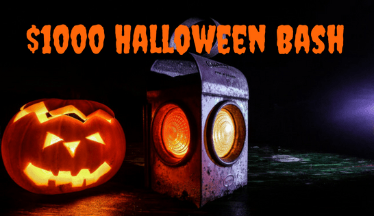 $1000 Halloween Bash Giveaway