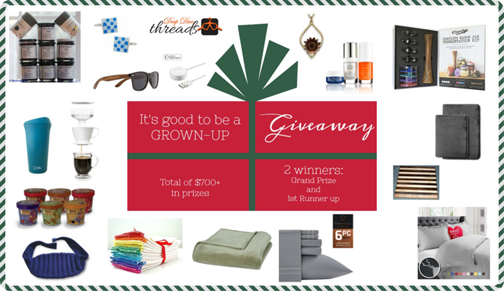 Good to Be a Grown Up Giveaway