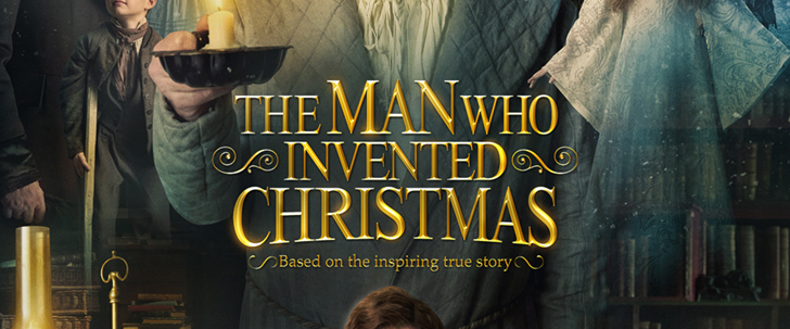 The Man Who Invented Christmas in Theaters Now