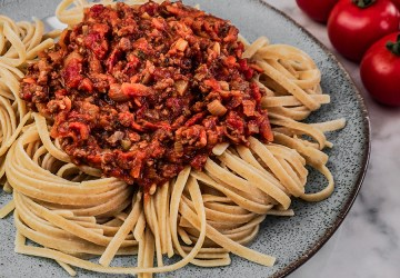 VEGAN BOLOGNESE (WITHOUT TOFU | MEAT)