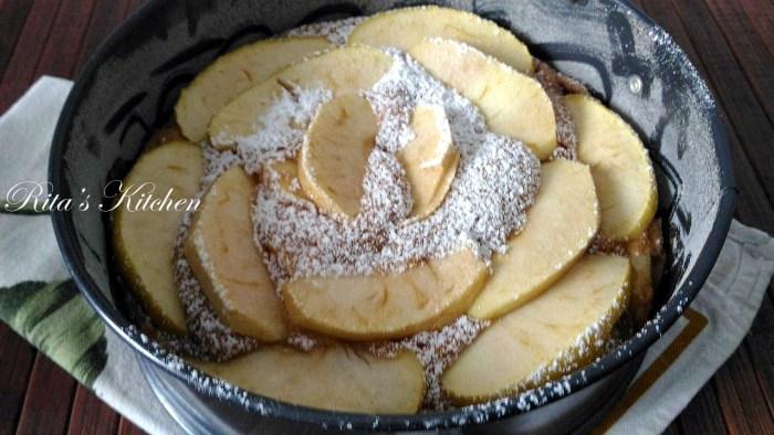 torta di mele vegana