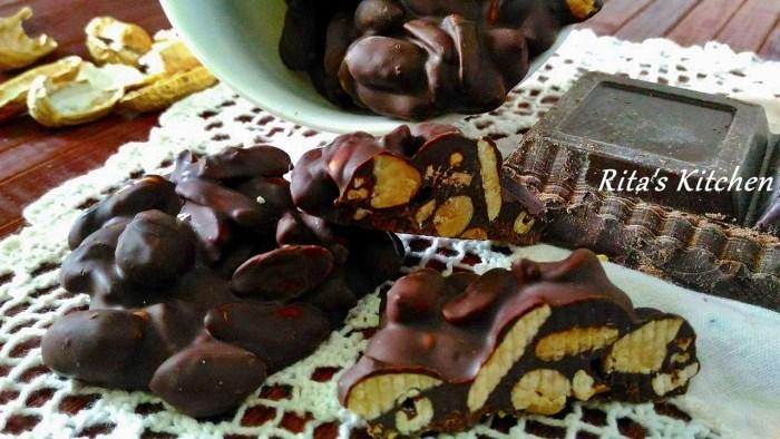 noccioline e cioccolato