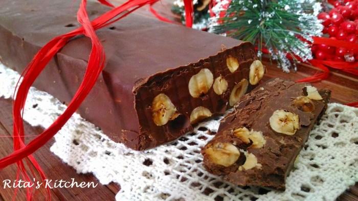 Buon Natale Con Il Torrone.Torrone Al Cioccolato Una Ricetta Facilissima Rita S Kitchen