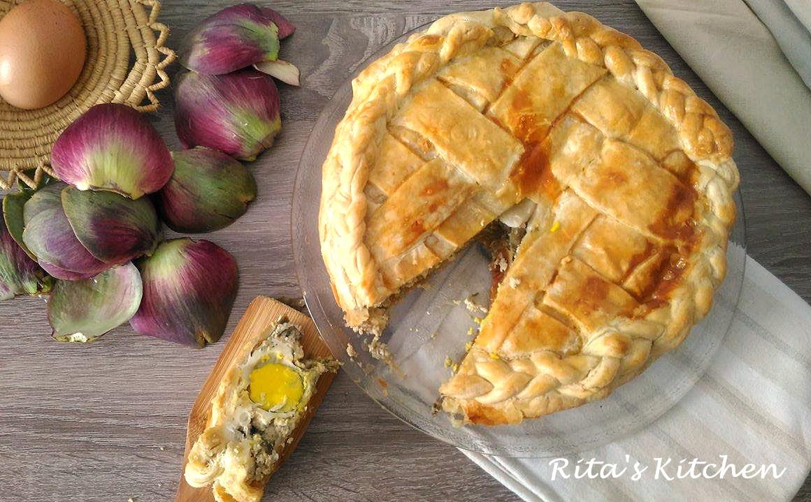 Torta Pasqualina Ai Carciofi Ritas Kitchen