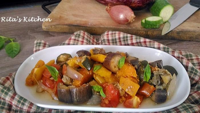 verdure miste in padella
