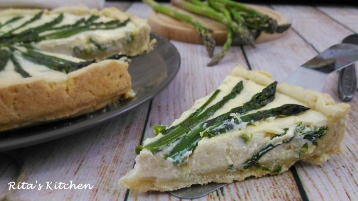 crostata d'asparagi