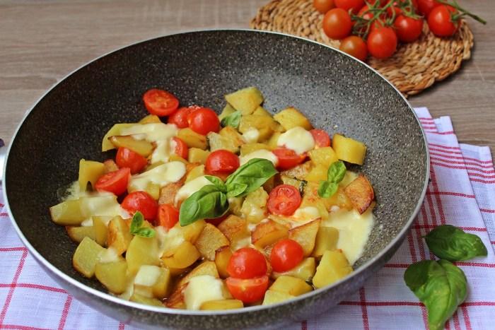 patate alla caprese