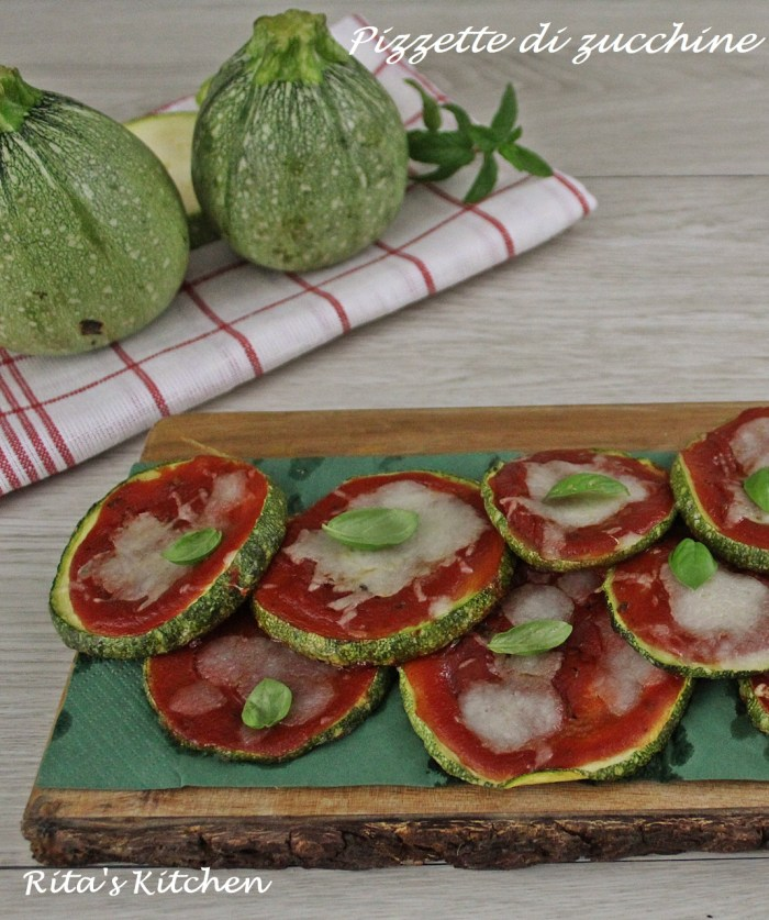 pizzette di zucchine