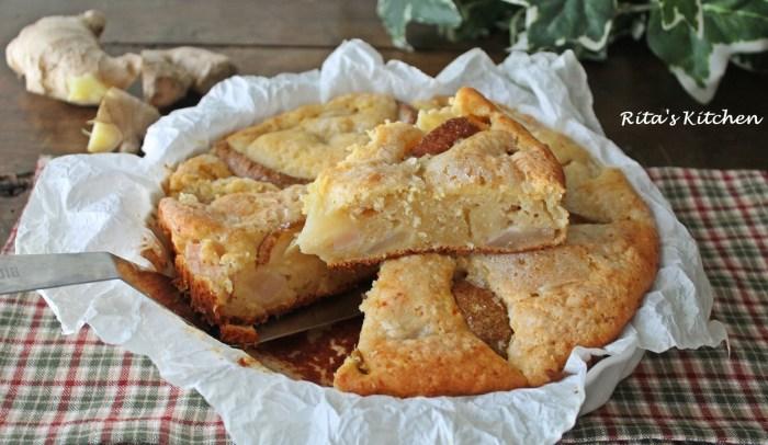 torta di pere e zenzero