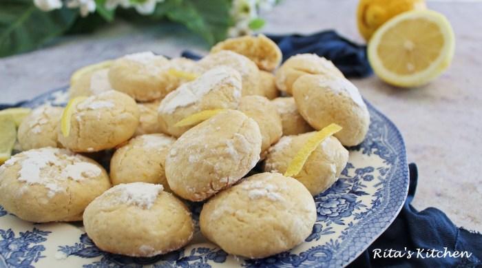 biscottini morbidi al limone