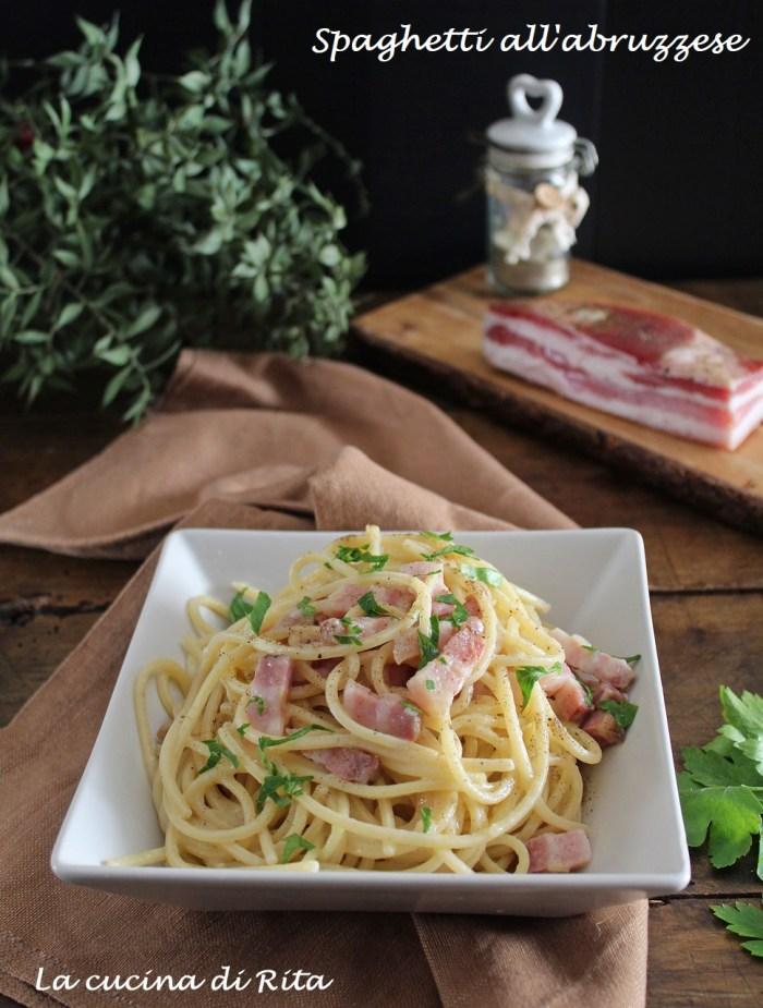 spaghetti all'abruzzese