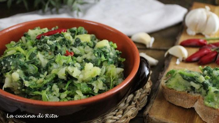 foglie e patate