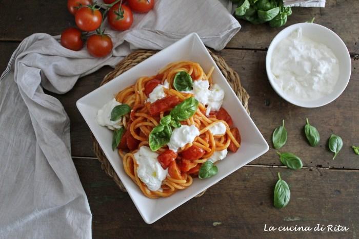 spaghetti tricolore